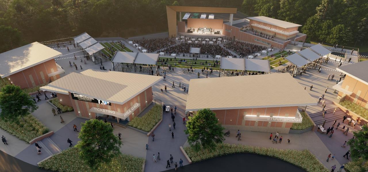Stockbridge Amphitheater Update Rendering