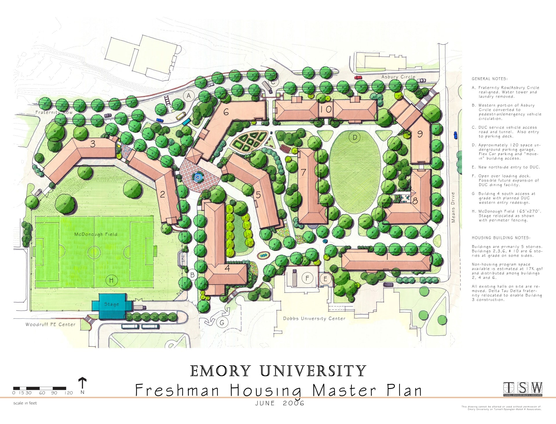 Emory University Freshman Housing