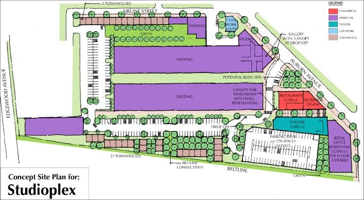 StudioPlex02 Studioplex on Auburn    TSW | Planning | Architecture | Landscape Architecture - Atlanta Georgia