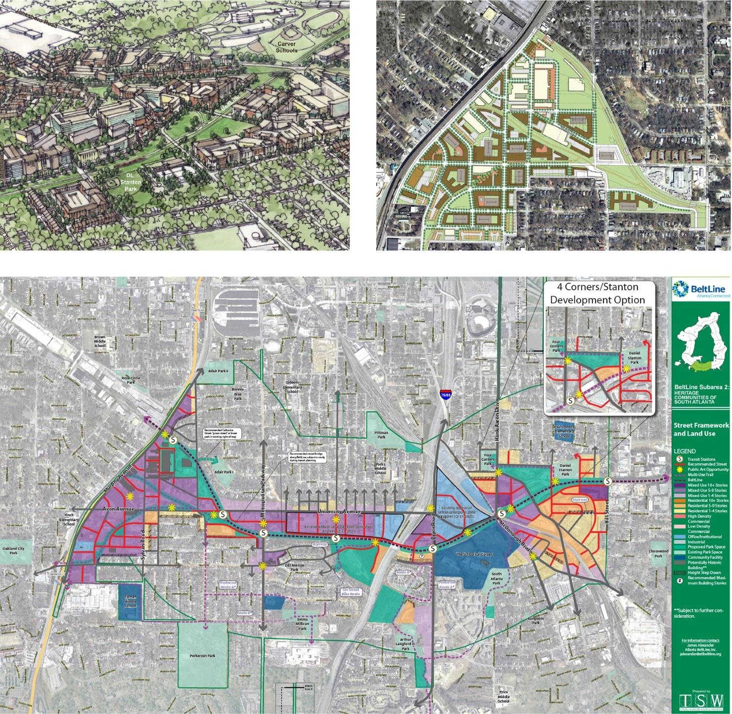 Atlanta Beltline Master Plan Subarea 2