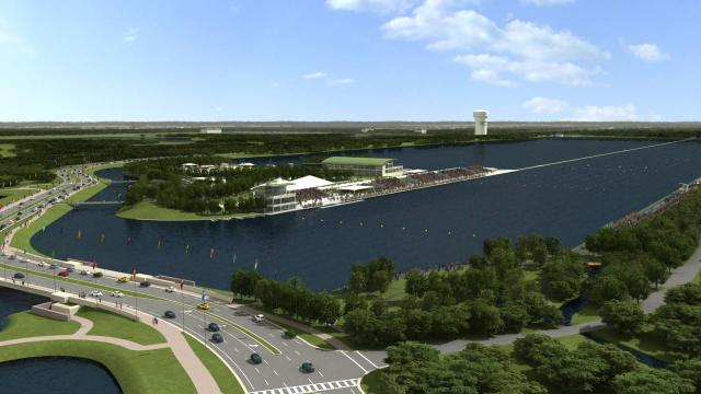 Nathan Benderson Park Receives Award from APA