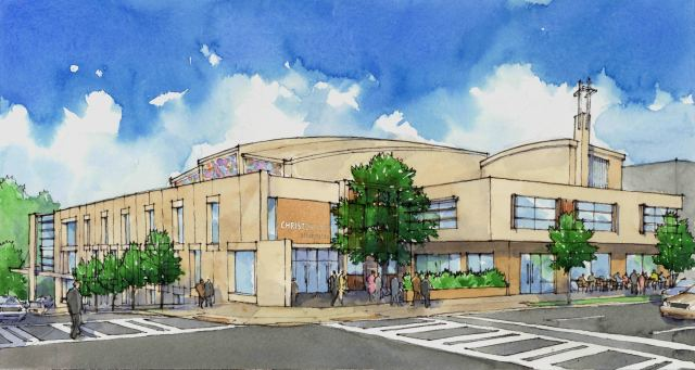 TSW CC02 ChristChurch Presbyterian Announces New Church Building Architecture In The News  TSW   TSW
