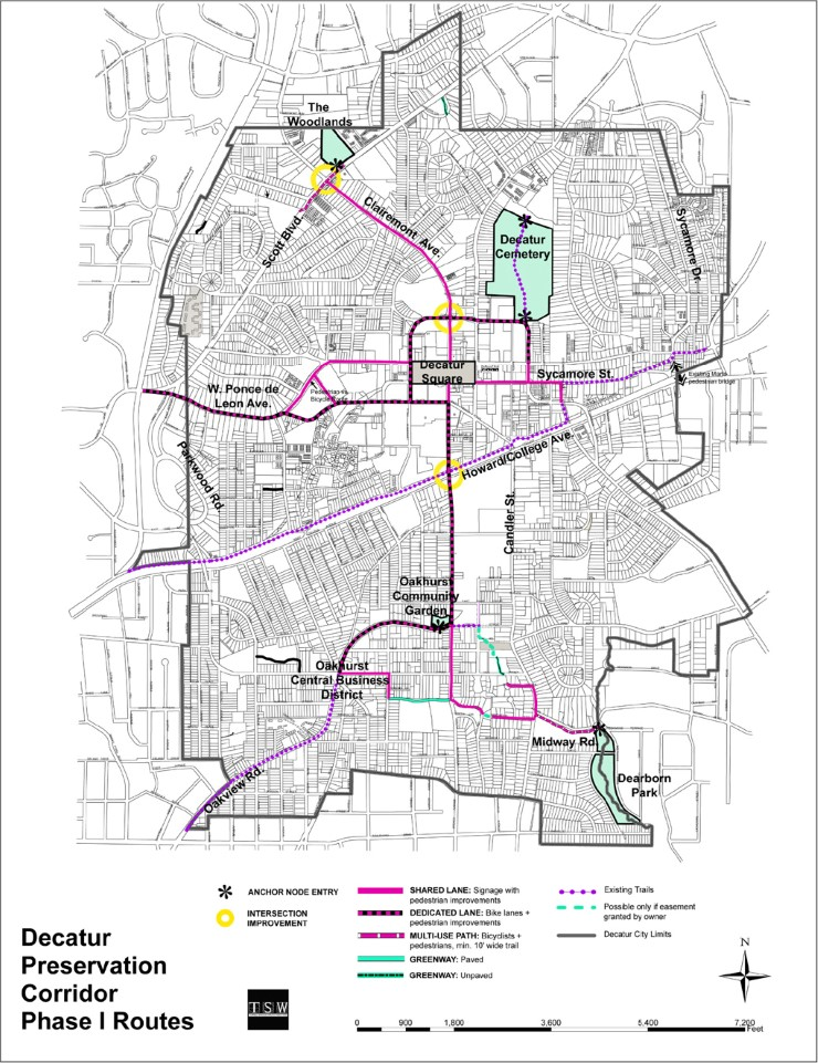 TSW DecaturPresevationCorridorMasterPlan02 Decatur Preservation Corridor Master Plan    TSW