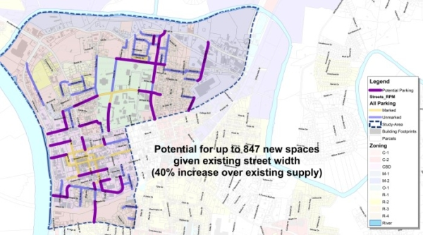 Downtown Parking & Street Network Study