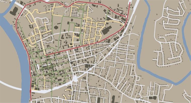 DOWNTOWN PARKING & STREET NETWORK STUDY