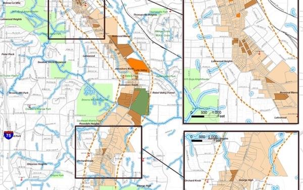 Jonesboro Road Redevelopment Plan