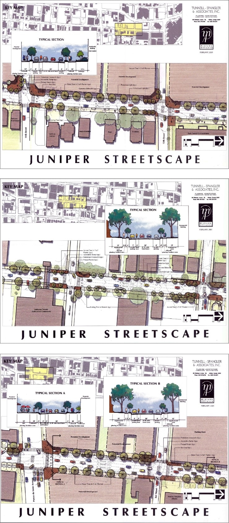 Juniper Street Streetscapes
