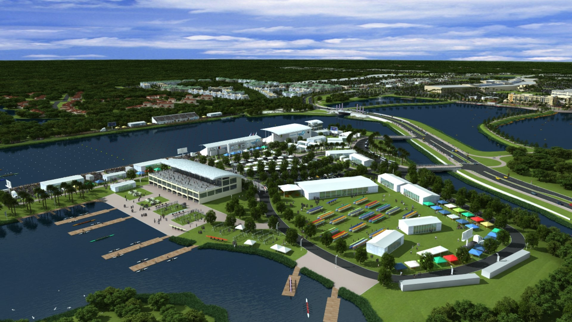 TSW Nathan-Benderson-Park-Rowing-Venue_003 Nathan Benderson Park & Rowing Venue    TSW