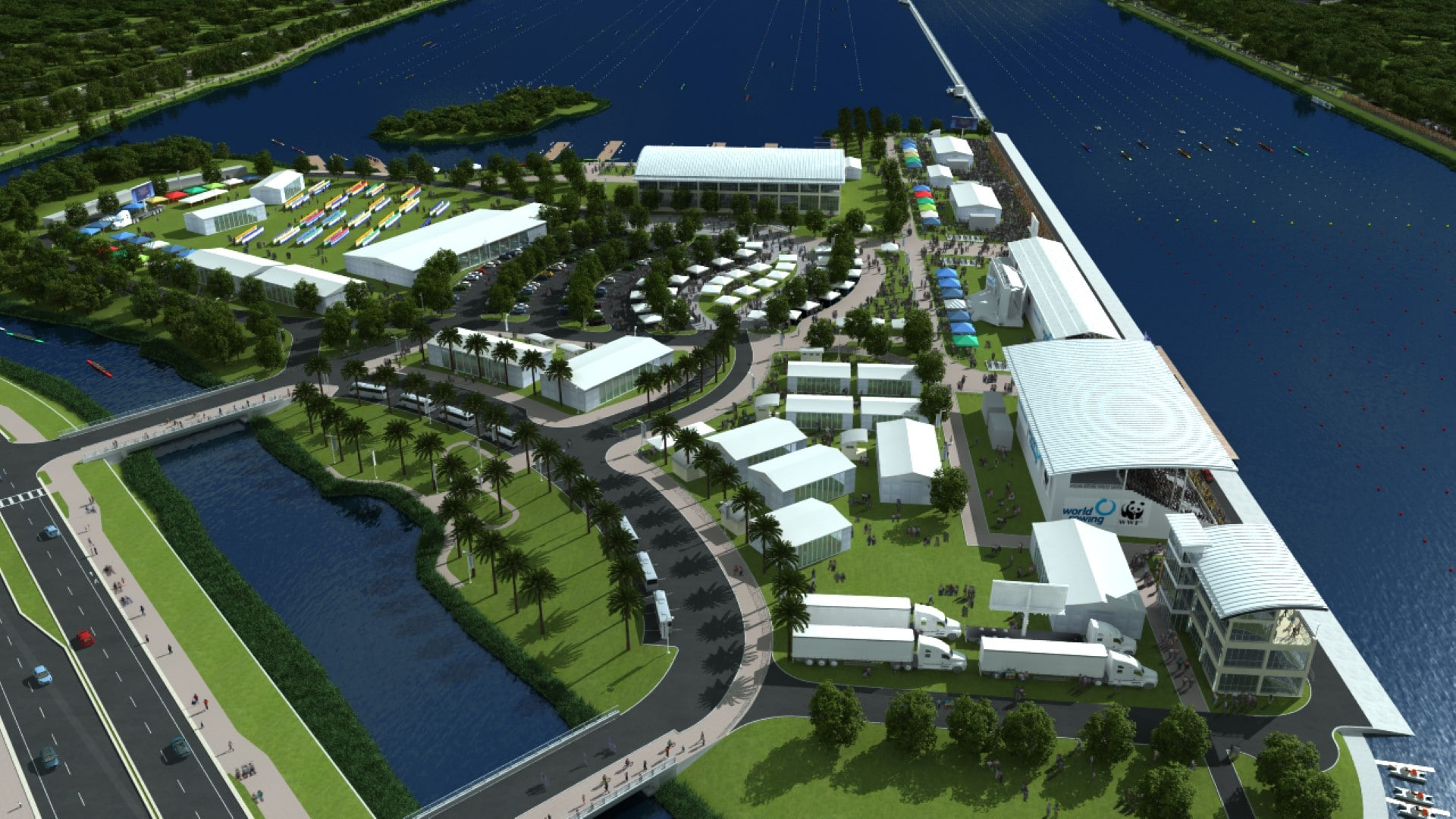 TSW Nathan-Benderson-Park-Rowing-Venue_004 Nathan Benderson Park & Rowing Venue    TSW