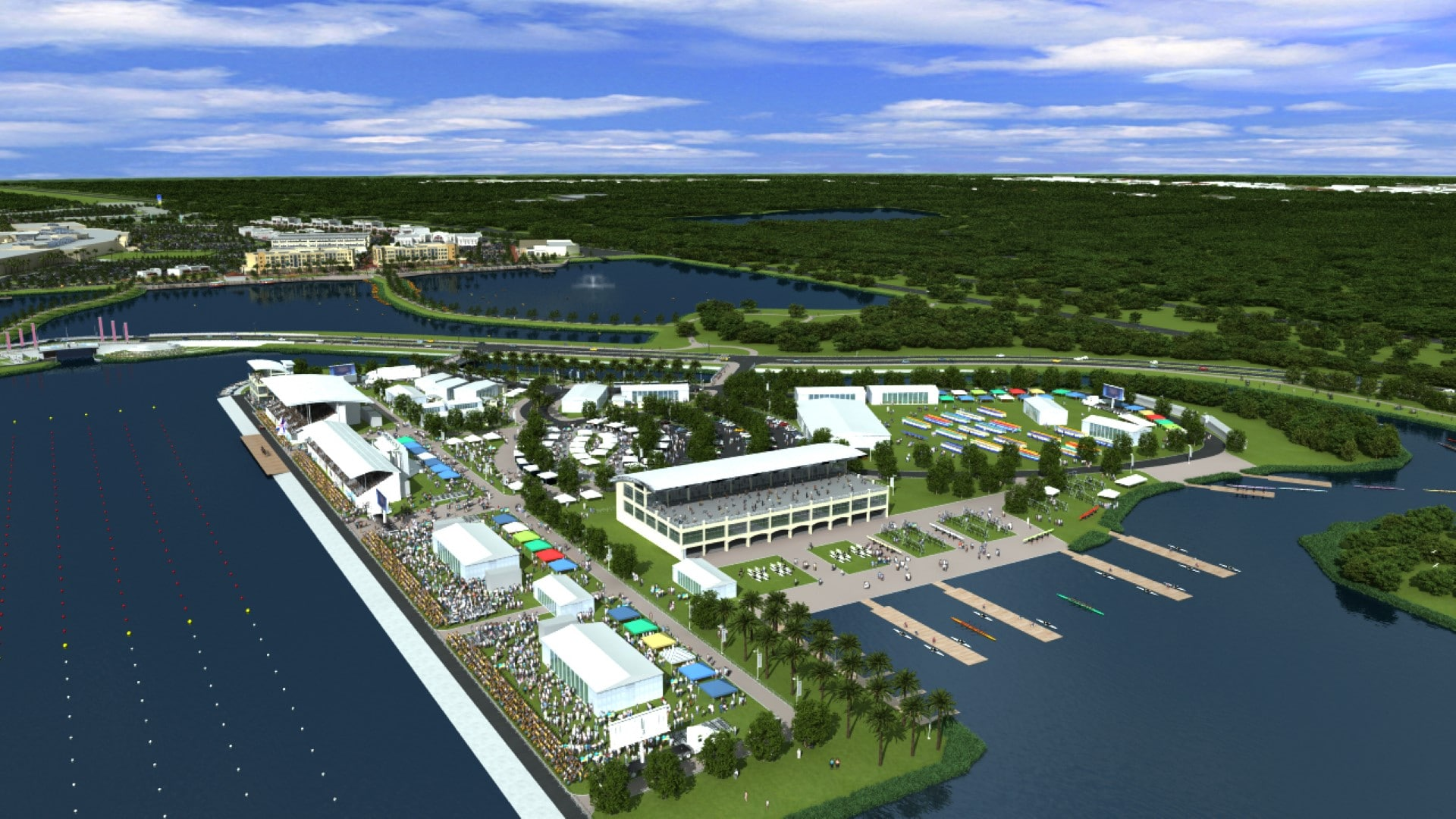 TSW Nathan-Benderson-Park-Rowing-Venue_005 Nathan Benderson Park & Rowing Venue    TSW
