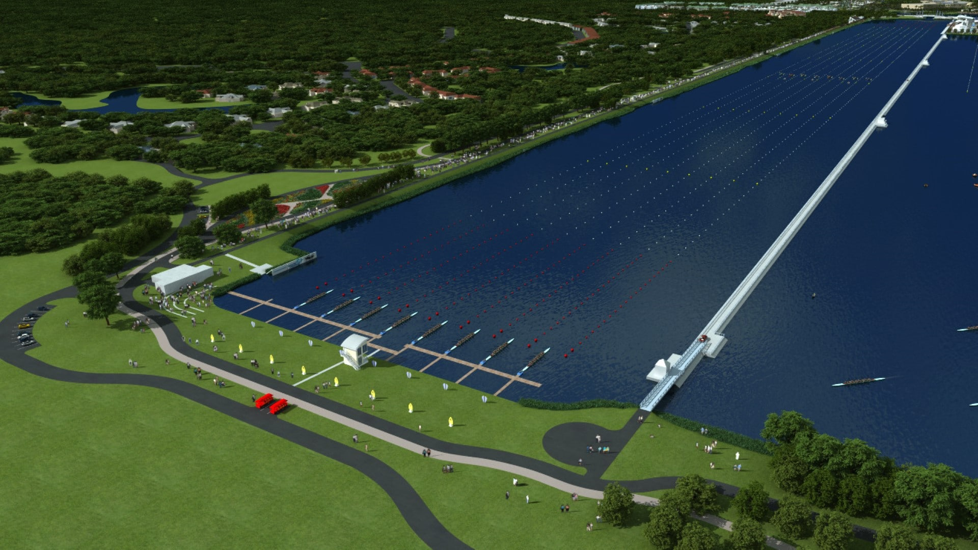 TSW Nathan-Benderson-Park-Rowing-Venue_007 Nathan Benderson Park & Rowing Venue    TSW