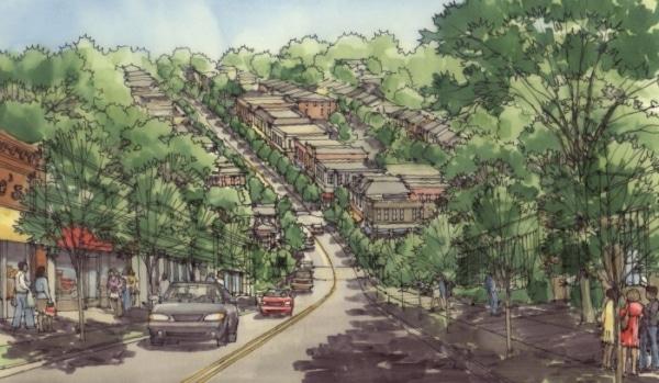 North Hill Street Redevelopment Plan