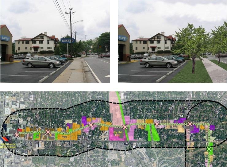 PondDeLeonAvenueCorridorStudy02 Ponce De Leon Avenue Corridor Study    TSW | Planning | Architecture | Landscape Architecture - Atlanta Georgia