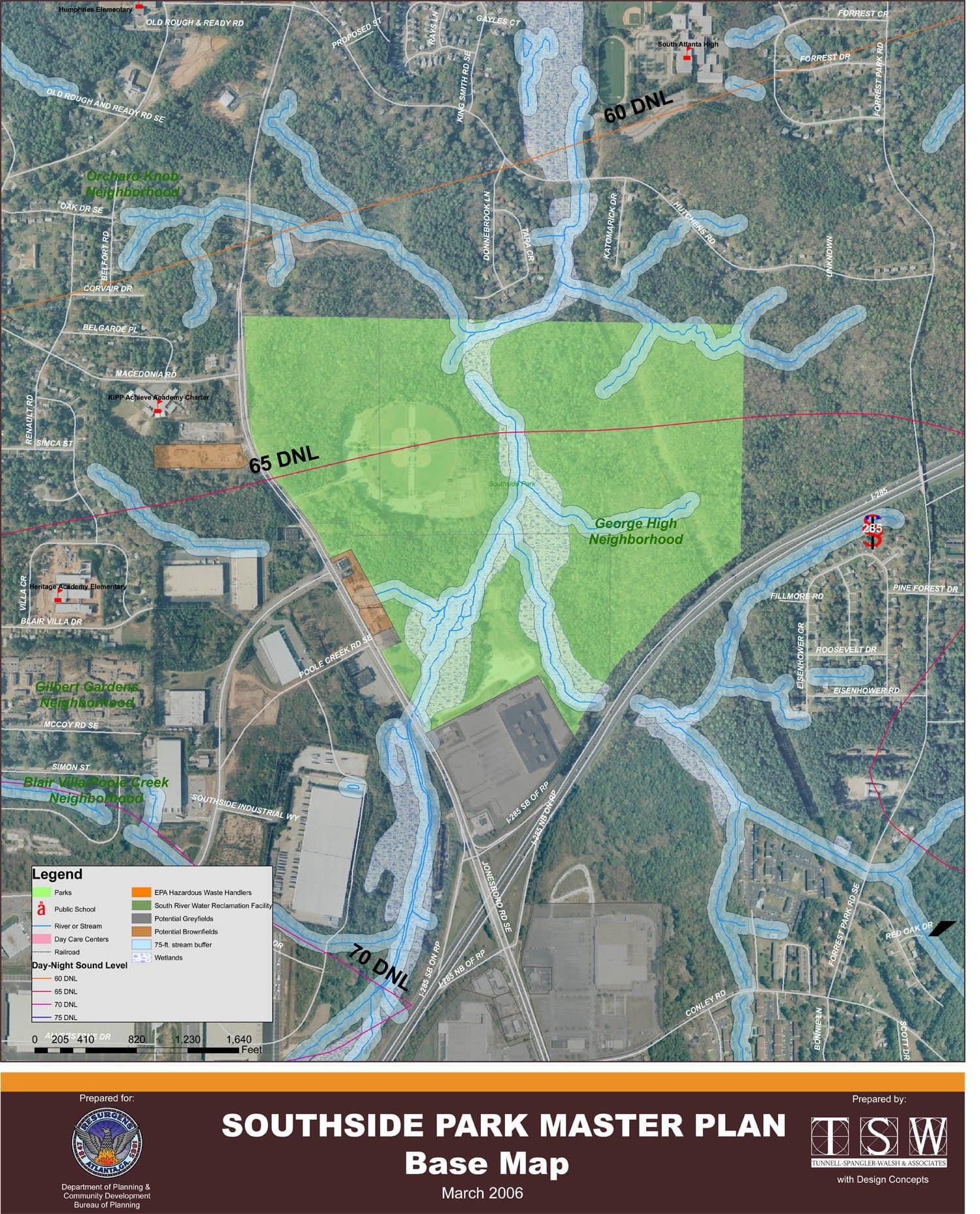 Southside Park Master Plan