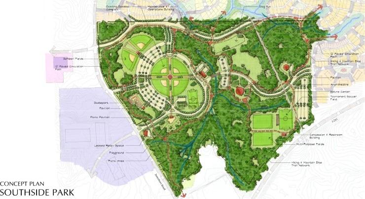 TSW - SOUTHSIDE PARK MASTER PLAN - TSW