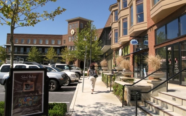 Vickery Town Center Streetscapes