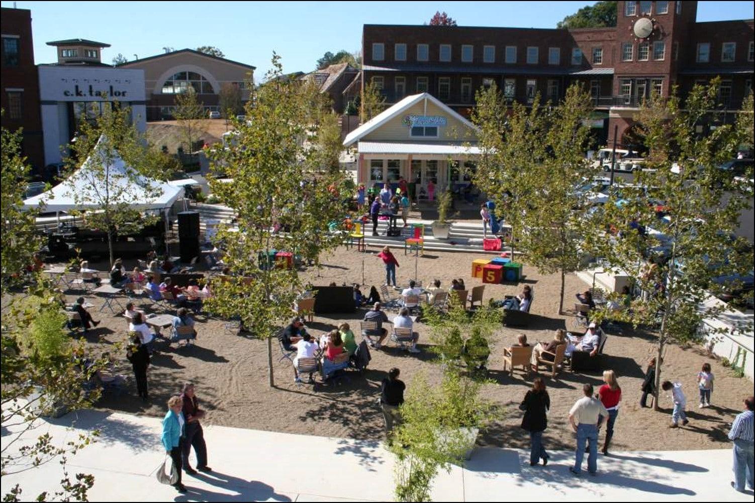 TSW Vickery-Town-Center-Streetscapes_002 Vickery Town Center Streetscapes    TSW