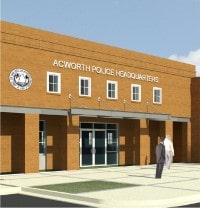 TSW AcworthPoliceHeadquaters01 City Of Acworth Police Headquarters Facility    TSW