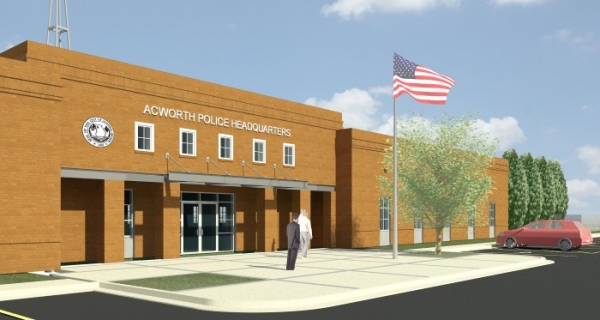 TSW City-Of-Acworth-Police-Headquarters-Facility_000-600x320 ARCHITECTURE    TSW