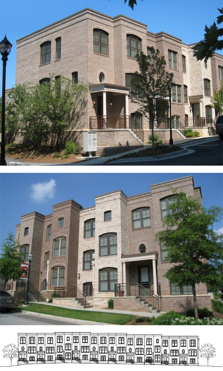 TSW CosmopolitanTownhomes02 Cosmopolitan Townhomes    TSW
