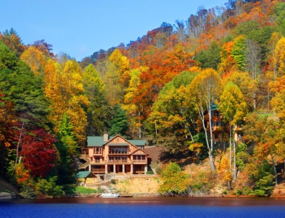 Santeetlah Lakeside Architecture