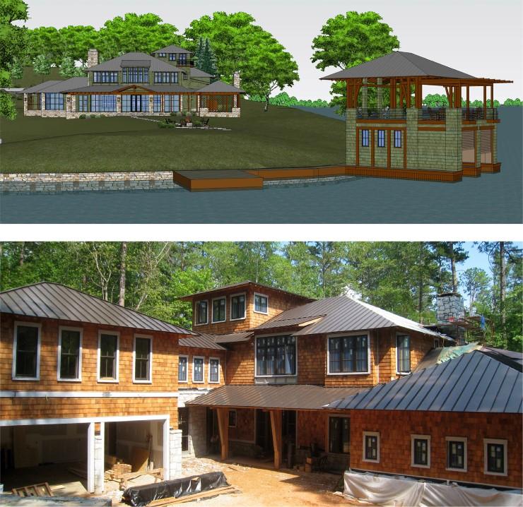 TSW WagnerResidence02 Wagner Residence and Boathouse    TSW