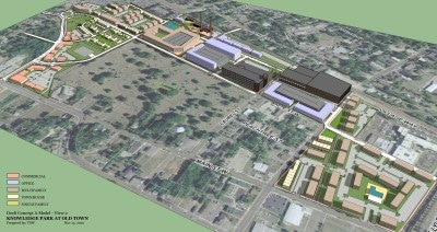 TSW RockHill-Concept-Model-2-3 City of Rock Hill Knowledge Park Update In The News Planning  TSW   TSW
