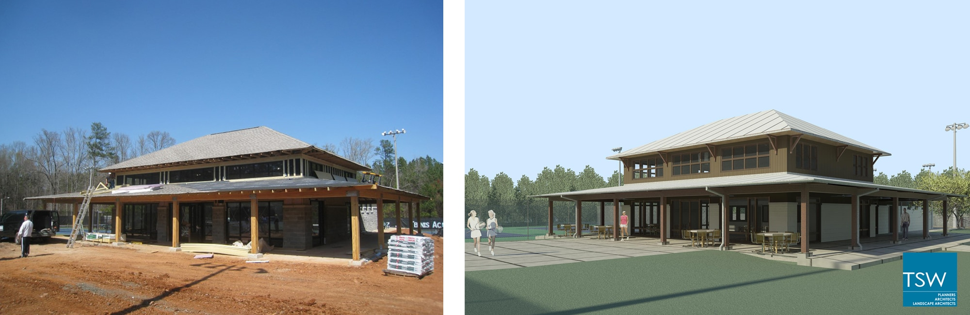 Cobb_Tennis_ construction_rendering