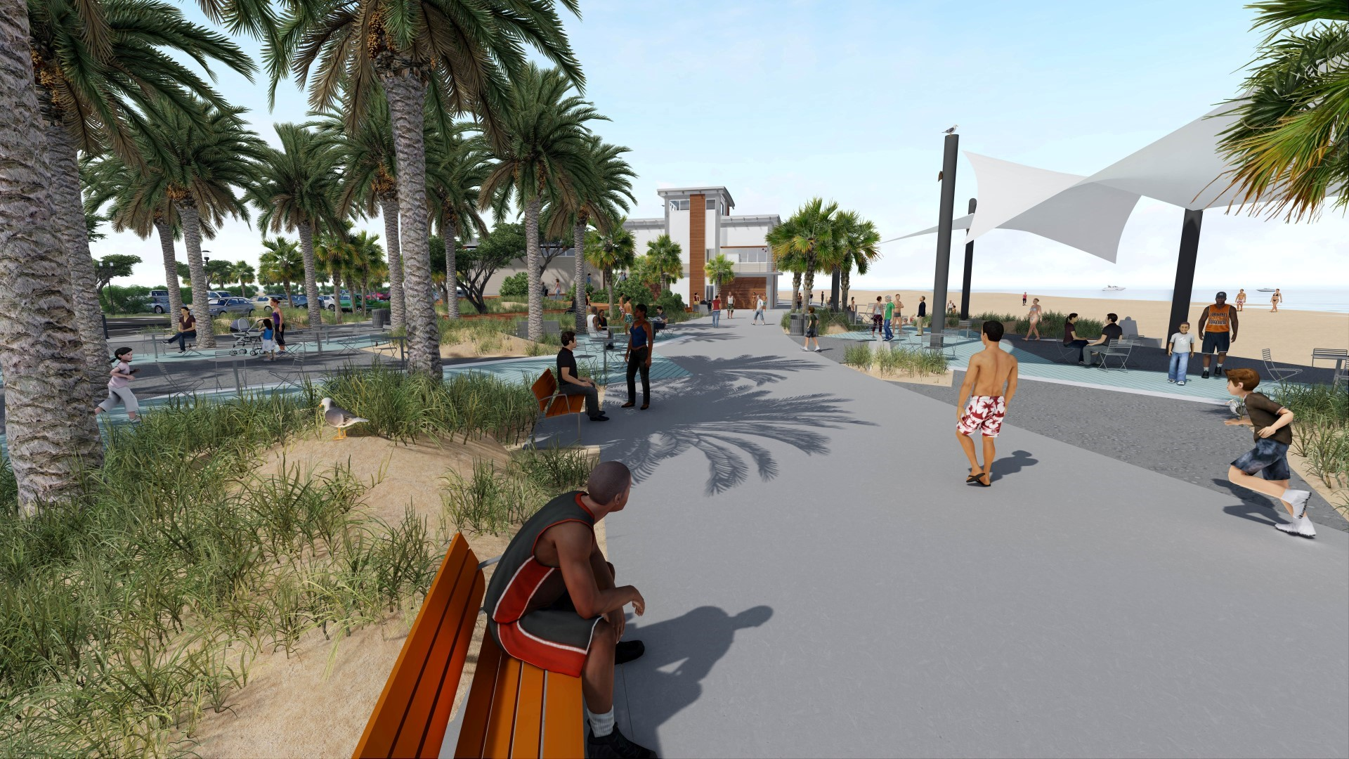 Gulf Place Public Beach Master Plan