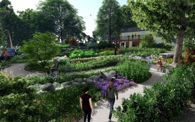 TSW Woodlands_Garden_TH-400x251 LANDSCAPE ARCHITECTURE    TSW