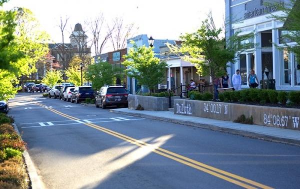 Duluth Main Street Streetscape