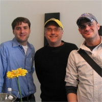 Adam, Jerry, and David at TSW Retreat, 2004