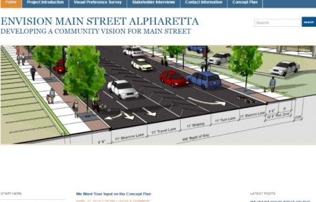 Envision Main Street Alpharetta