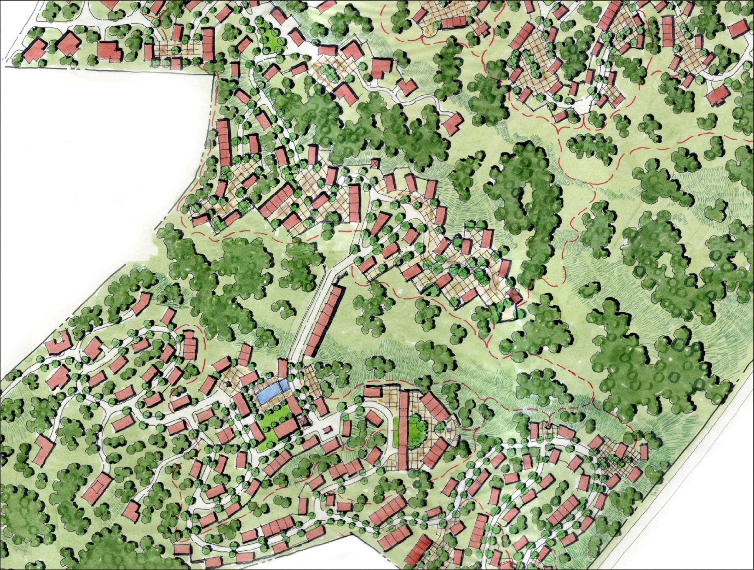 Tsw lisi lake master plan for Lake plan