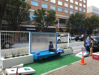TSW IMG_3887-e1445604317346 Midtown Atlanta PARK(ing) Day In The News Giving Back  Giving Back pop-up park parklet corn-hole midtown alliance park(ing) day TSW   TSW