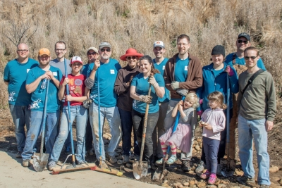 TSW IMG_0572-Large-400x267 BeltLine Gateway Volunteer Day Landscape Architecture Volunteering Giving Back  gateway trail Park Pride O4W Historic forth ward Giving Back BeltLine TSW Atlanta BeltLine   TSW
