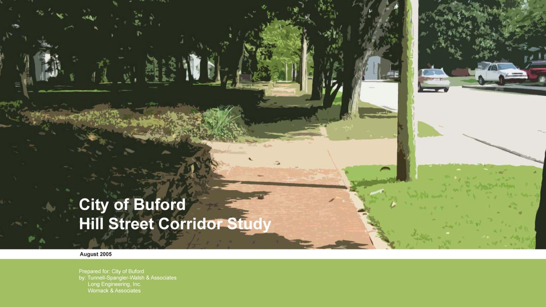 Hill Street Corridor Study
