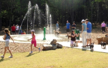 Rogers Bridge Dog Park and Rain Garden