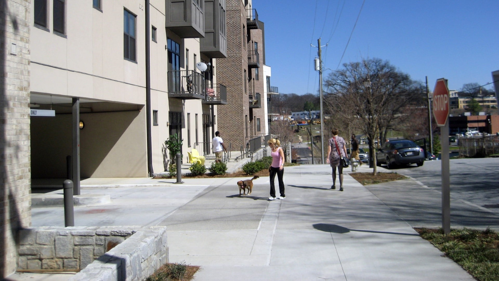 The Fourth Streetscape