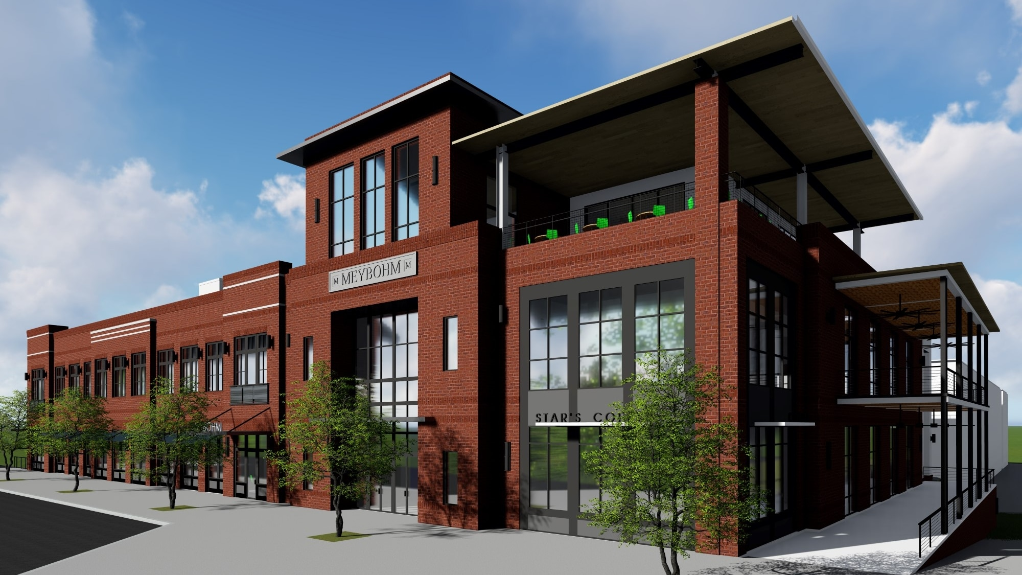 TSW - Evans Towne Center is a mixed-use development