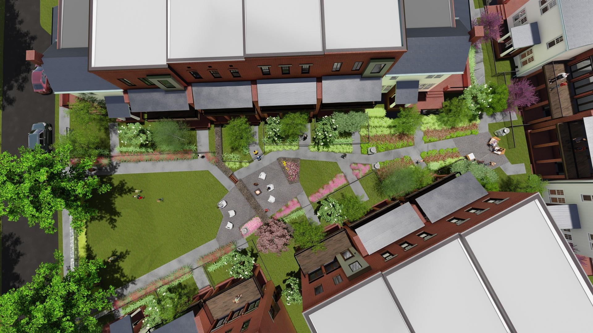 Westside Station Townhomes Phase I Brock Built Homes