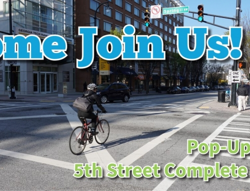 5th Street Complete Street Pop-Up Event