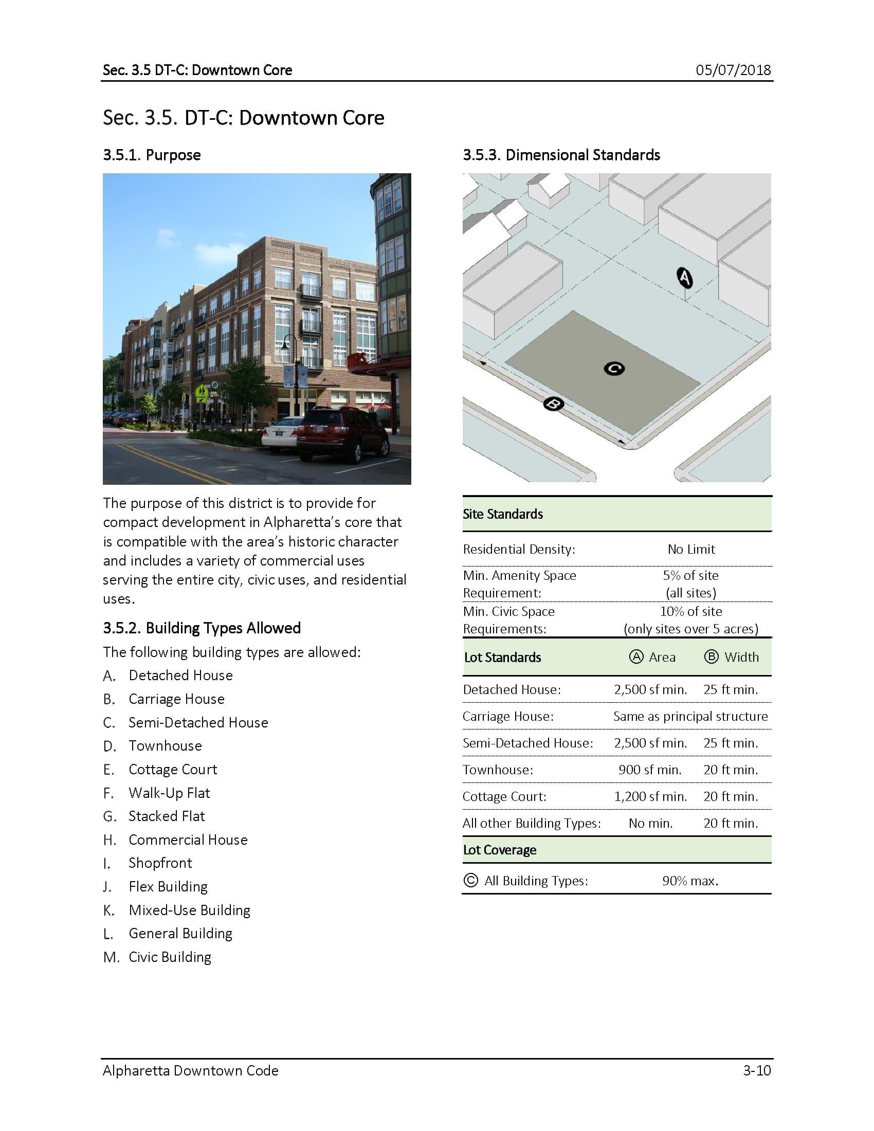TSW AlpharettaCode-1-Copy Alpharetta Downtown Design Guidelines    TSW