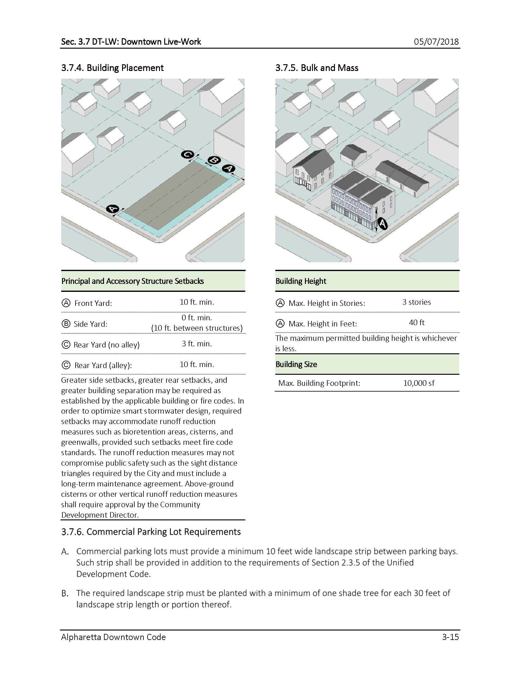 TSW AlpharettaCode-6 Alpharetta Downtown Design Guidelines    TSW
