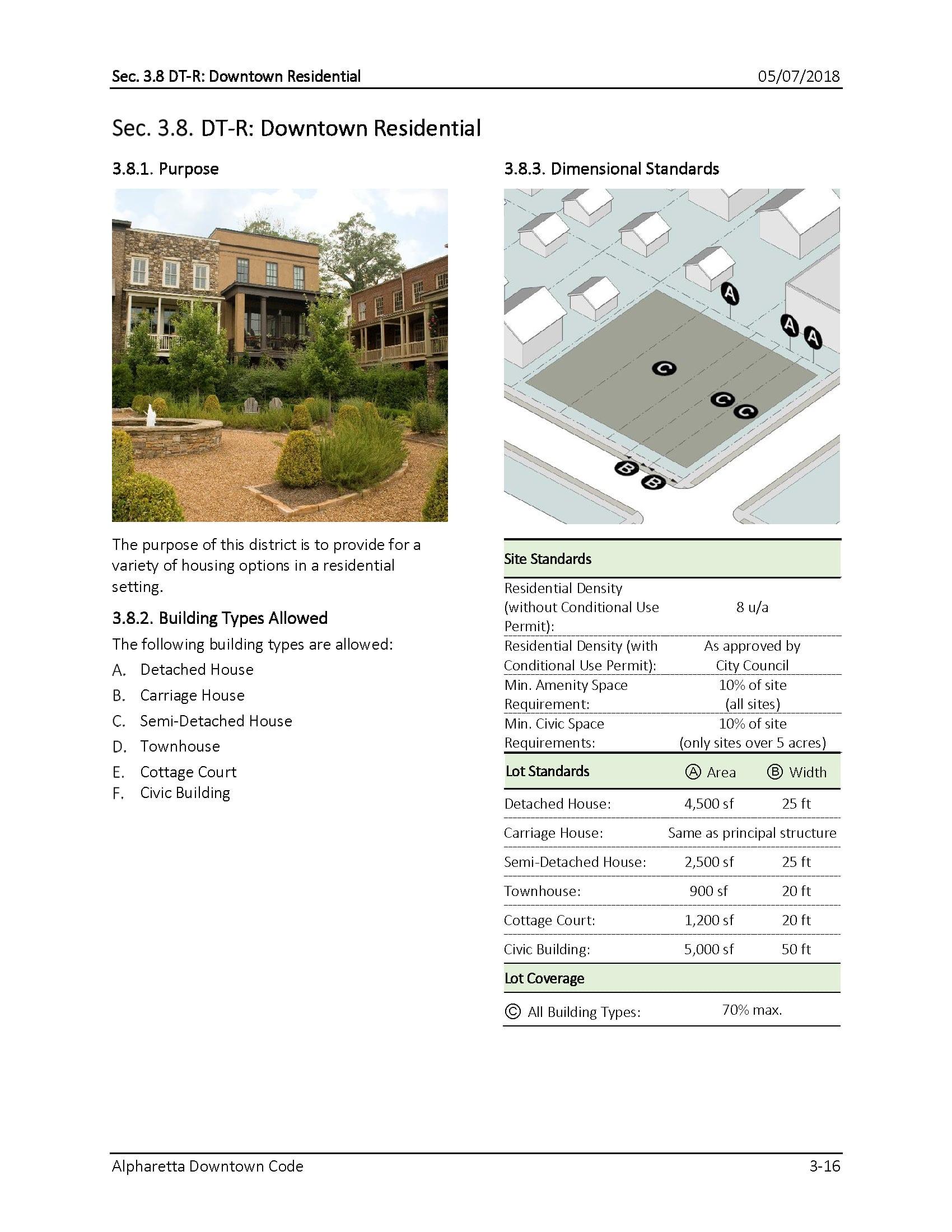 TSW AlpharettaCode-7 Alpharetta Downtown Design Guidelines    TSW