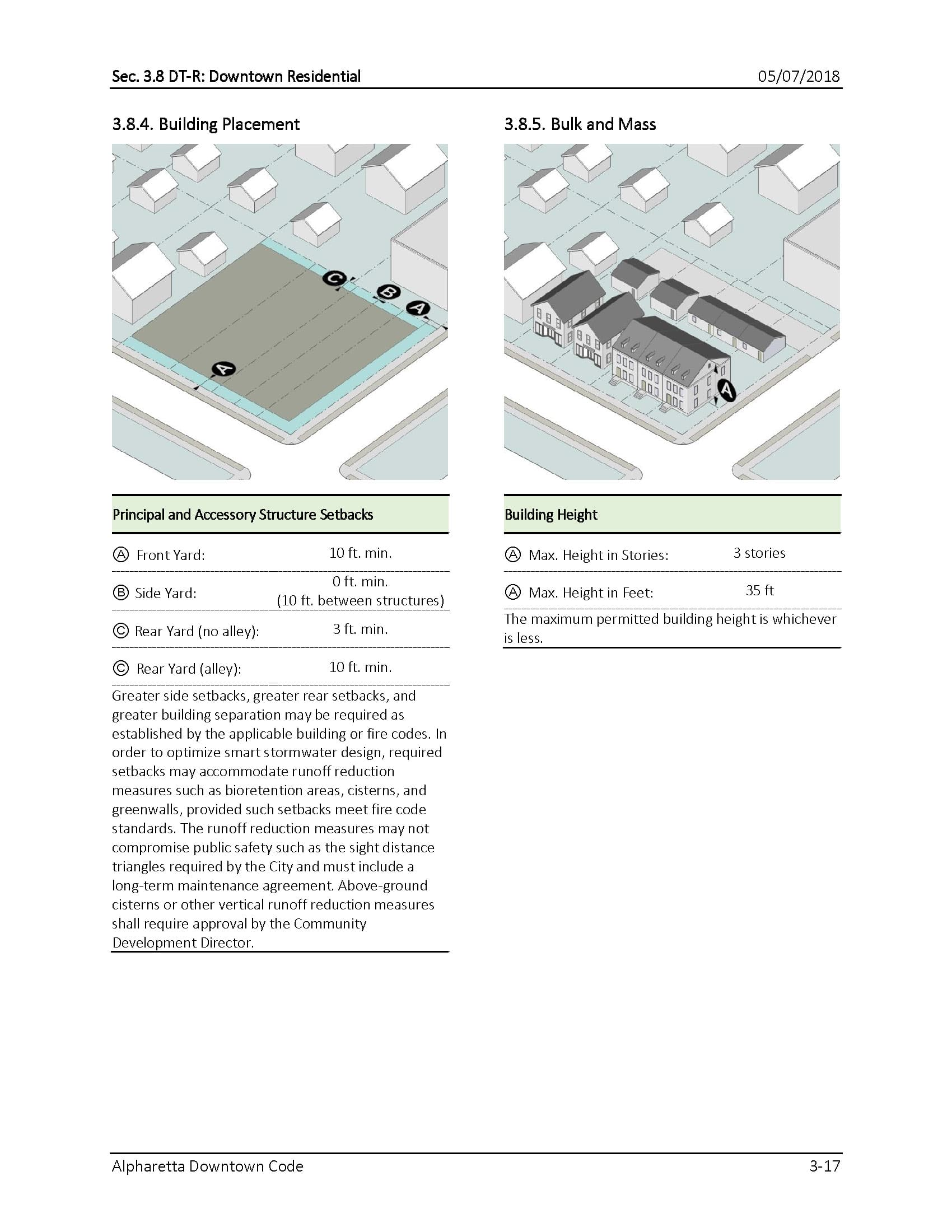 TSW AlpharettaCode-8 Alpharetta Downtown Design Guidelines    TSW