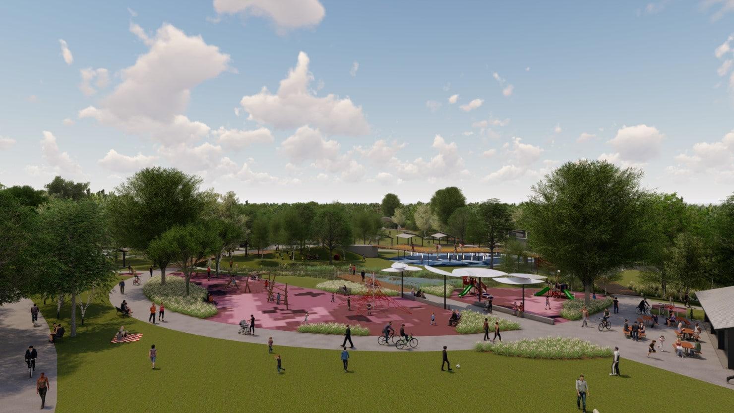 Carpenter's Riverfront Park Master Plan