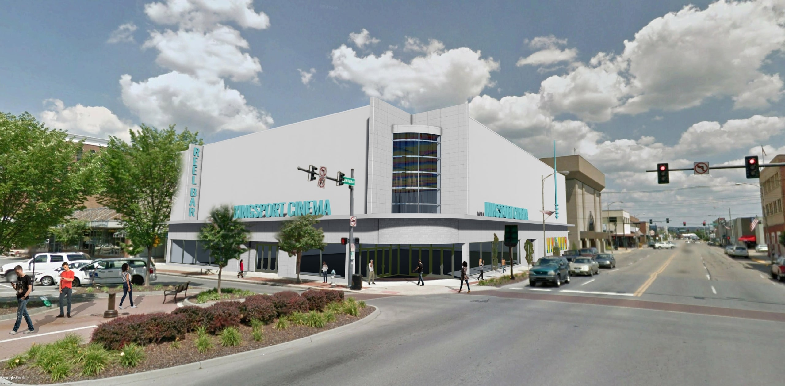 TSW Cinema-People Downtown Kingsport Update In The News Planning  Downtown Master Planning Kingsport TSW   TSW