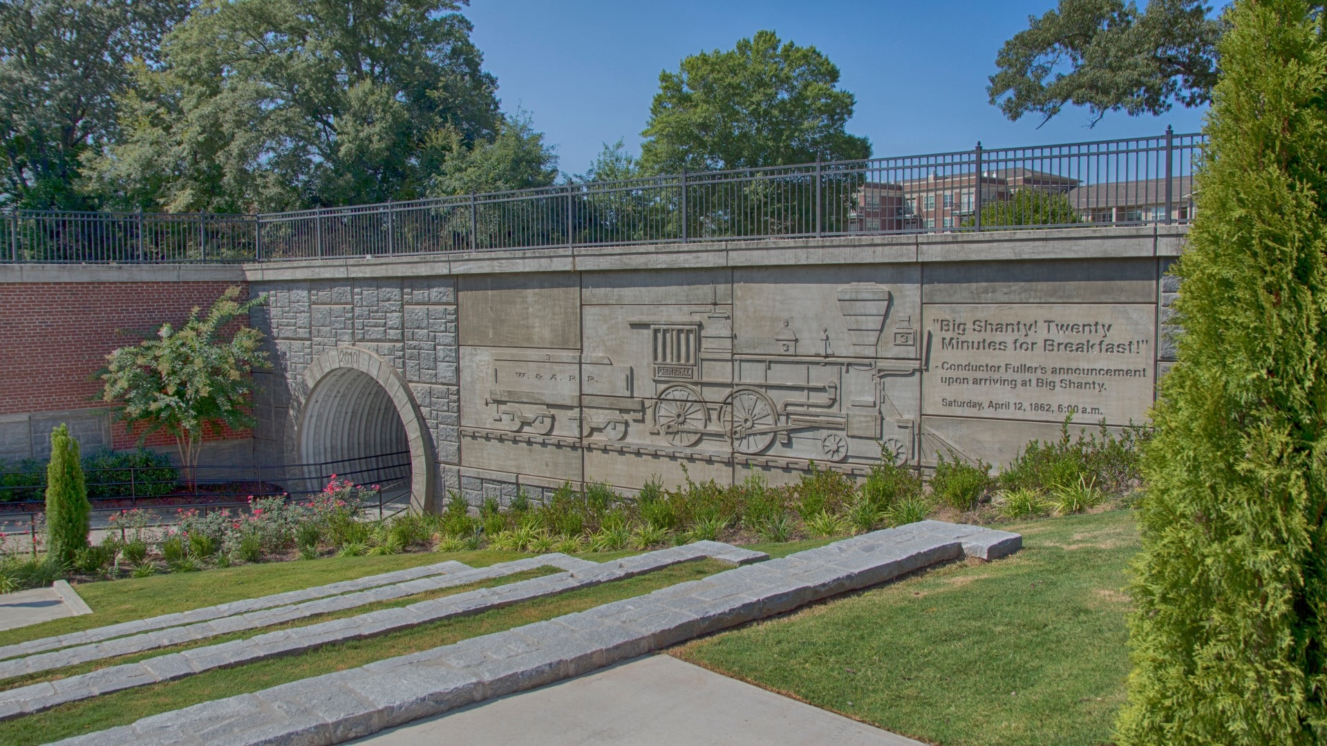 TSW City-of-Kennesaw-Depot-Park-004 City of Kennesaw Depot Park    TSW