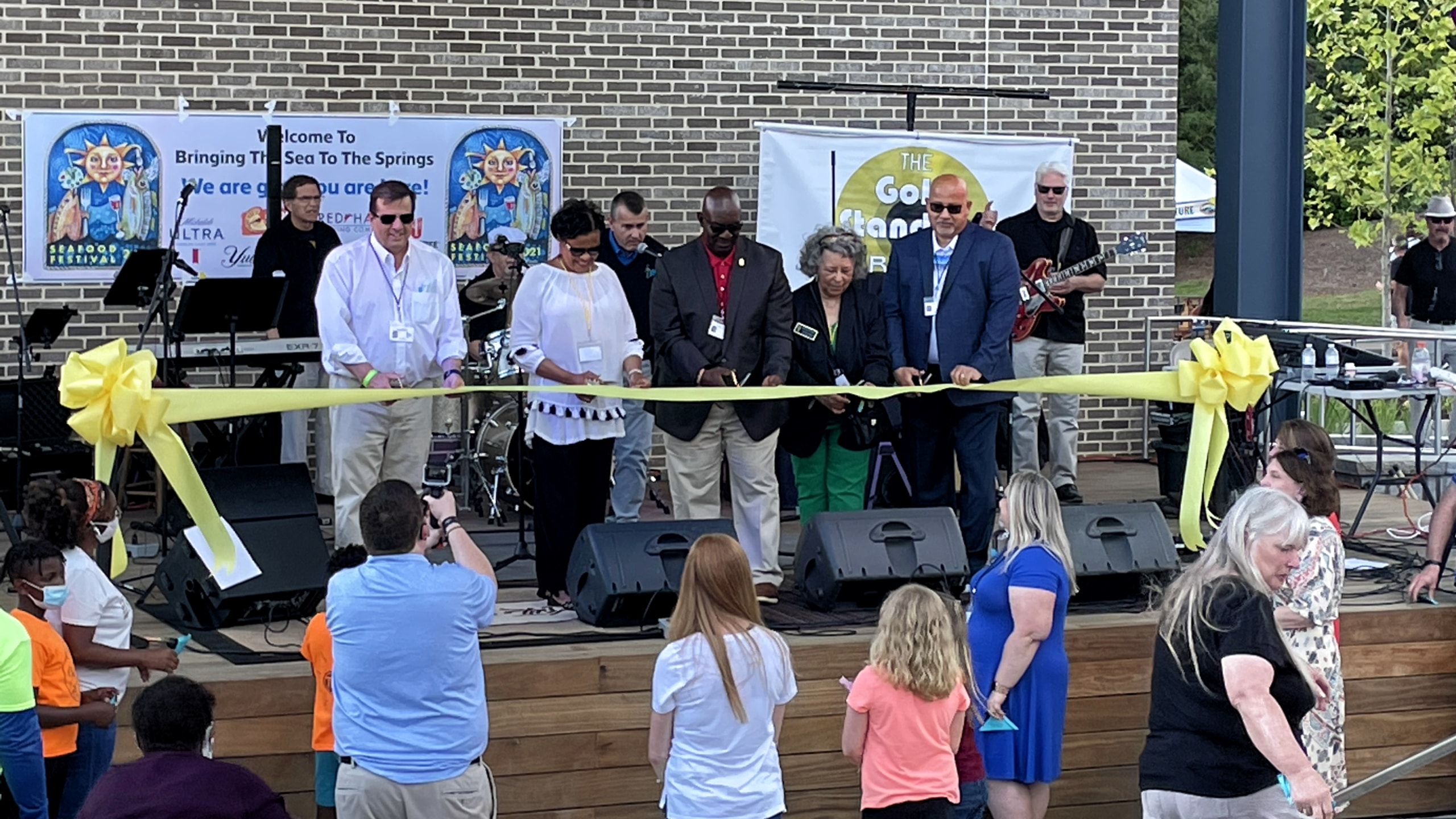 Powder Springs Town Green Grand Opening - Ribbon Cutting Ceremony